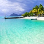 Turquoise tropics - amazing beaches of Mauritius island